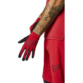 Fox Flexair Foxhead Gloves Men, chili